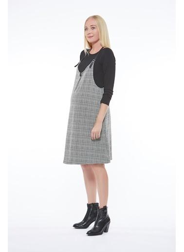 Motherway Maternity Elbise Sarı